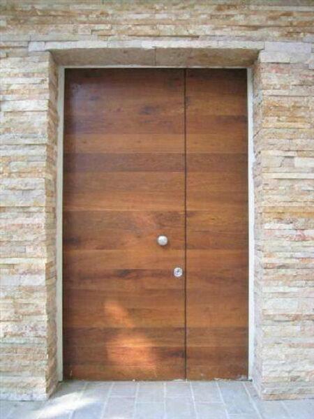 porte blindate in legno